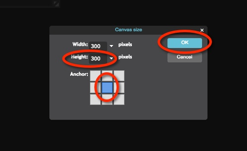 pixlr how to add an image
