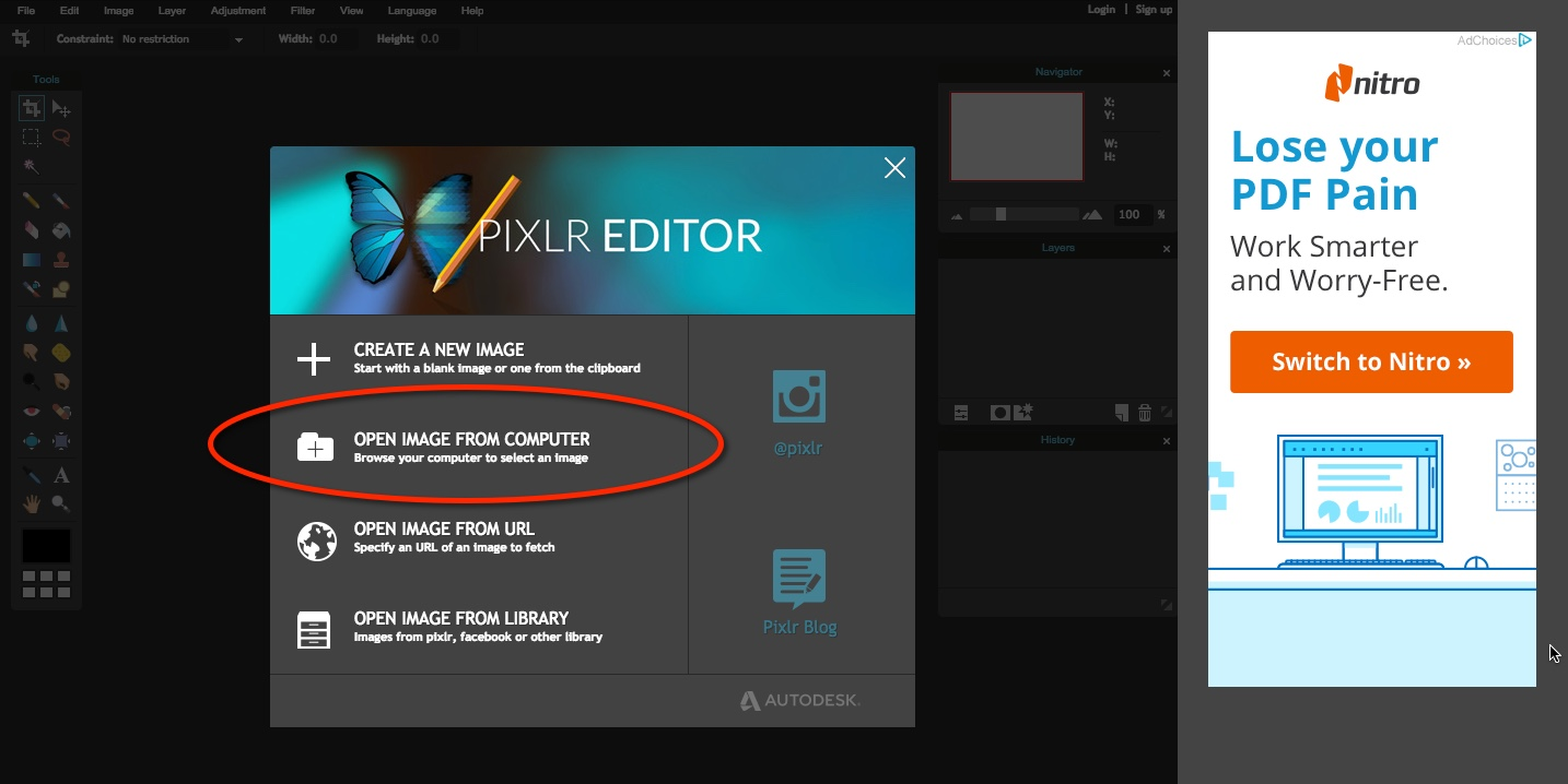How To Resize Images Without Photoshop For Free With Pixlr Evermore