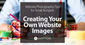 Custom Photography: Creating Your Own Website Images