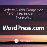 Website Builder Comparison for Small Businesses and Nonprofits: WordPress.com